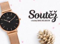 Soutěž o dámské hodinky Daniel Wellington z růžového zlata