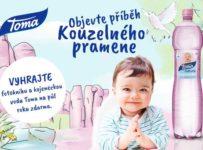 Soutěž o zásobu kojenecké vody Toma Natura na půl roku a fotoknihu!