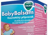 Soutěžte o Vicks BabyBalsam pro Vaše miminko