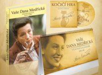 Soutěž o dva komplety: kniha Vaše Dana Medřická, DVD Kočičí hra