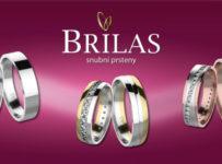 Vyhrajte BRILAS snubní prsteny za 25 000 Kč!