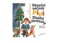 Soutěž o 3x audioknížku Vánoční večírek Pipi Dlouhé punčochy