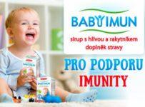 Soutěž o 5x 2 balení sirupu BABY IMUN od TEREZIA Company