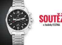 Soutěž o pánske hodinky Festina Chronograph