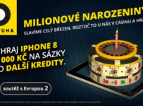 Hraj s Fortunou o iPhone 8 a kredity na sázky