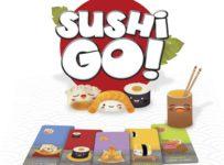Soutěž o karetní hru SUSHI GO