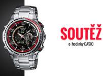 Soutěž o pánské hodinky Casio Edifice EFA-121D-1A