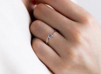 Soutěž o prstenem Bisaku C23 v bílém 14 karátovém zlatě s diamantem v hodnotě 15 000 Kč!
