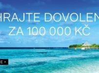 Vyhrajte letecký zájezd za 100 000, 80 000 a 50 000 Kč a 40 dalších cen