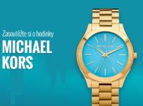 Soutěž o dámské hodinky Michael Kors Slim Runway MK3265