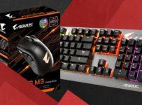 Soutěž o sadu hardwarové klávesnice AORUS K7 a myš AORUS M3
