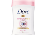 Vyhrajte nový antiperspirant Dove Invisible Care Floral Touch