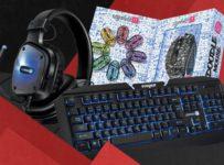 Soutěž o herní klávesnici, myš a sluchátka