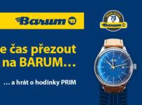Je čas přezout na BARUM a vyhrát některou z atraktivních cen