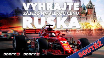 Soutěž o letecký zájezd pro 2 osoby na Velkou cenu Ruska F1 v Soči