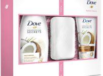 Soutěž o dárkové kazety Dove Coconut se setem na manikúru