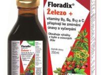 Soutěž o doplněk stravy Salus Floradix Železo+
