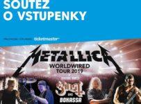 Vyhraj lístky na pražský koncert Metallica