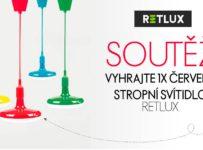Soutěž o červené stropní svítidlo Retlux