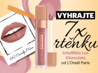 Soutěž o 7x rtěnku Les Chocolats od L'Oréal Paris