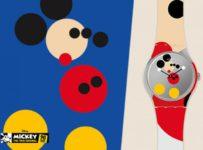 Soutěž o hodinky Swatch ve speciální kolekci k výročí Mickeyho Mouse