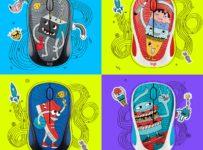 Vánoční soutěž o 3 myši Logitech Doodle Collection
