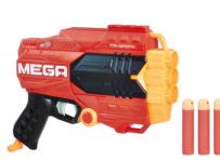 Pistole Nerf Mega Tri Break pro jednoho z vás