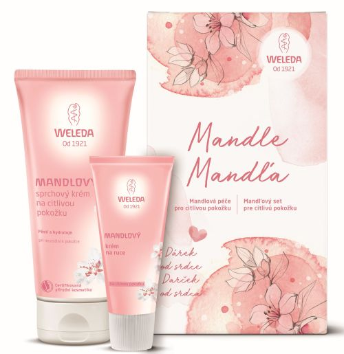 Vyhraje Weleda balíček Mandlové péče pro citlivou pokožku