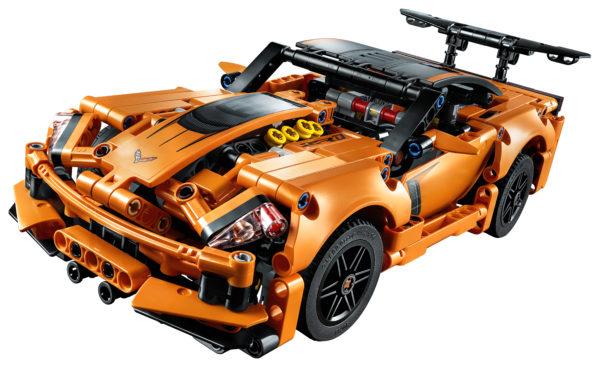 Soutěž o Chevrolet Corvette z řady LEGO Technic