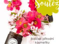 Soutěž o balíček přírodní kosmetiky v hodnotě 500 Kč