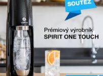 Soutěž o nejnovější SodaStream Spirit OneTouch