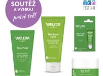 Soutěž o 3 dárkové balíčky kosmetiky Weleda