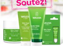Soutěž o 3 voňavé balíčky s produkty WELEDA Skin Food