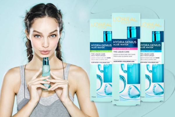 Soutěž o krémy Hydra Genius od L'Oréal Paris