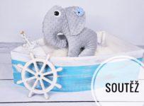 Soutěž o sloníka, na výběr pro holčičku i pro kluka