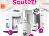 Soutěž o ohřívačku kojeneckých lahví, parní vařič a mixér