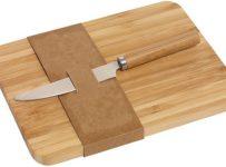Soutěž o sadu krájecího prkénka z bambusového dřeva a nerezového nože