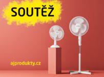 Soutěž o stolní a stojanový ventilátor od AJ Produkty