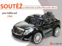 Soutěž o dětské elektrické autíčko Mercedes-Benz S Class 600