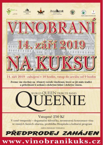 Soutěž o vstupenky na Vinobraní na Kuksu