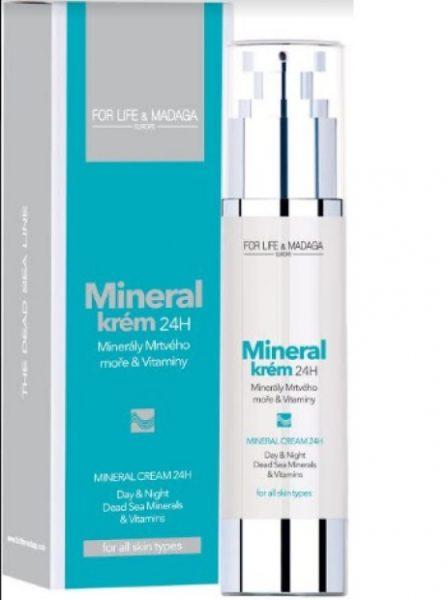 Soutěžte o balíček Mineral krému a masky od For Life & Madaga