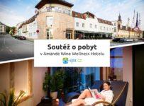 Soutěž o pobyt na 2 noci v Amande Wine Wellness Hotelu