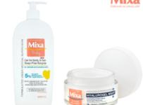 Soutěže o balíček kosmetiky Mixa pro miminko a maminku