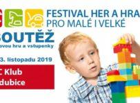 Soutěž o vstupenky na Festival her a hraček pro malé i velké