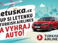 Auto za letenku s Turkish Airlines