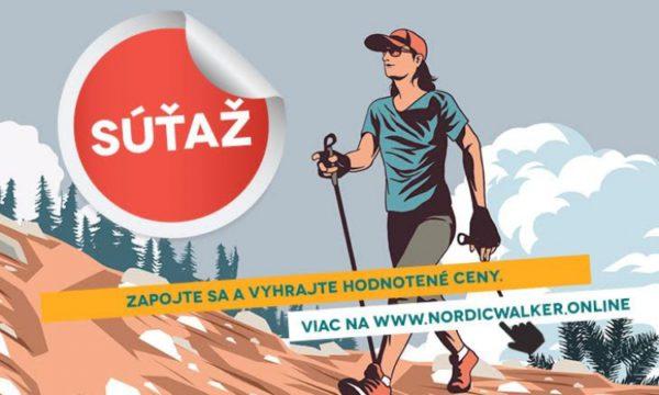 Súťaž o hodnotné ceny s NordicWalker.Online