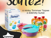 Soutěž o 3 balíčky mističek Tommee Tippee a k tomu dobroty Sunar
