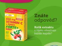 Soutěž o MaxiVita Exclusive Vitamin C s šípkem