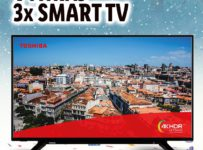 "Soutěž o 3x Smart TV Toshiba 43"" UltraHD"