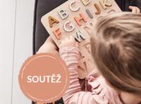 Soutěž o dřevěnou abecedu značky Kids Concept v hodnotě 889 Kč